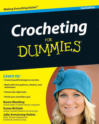 Crocheting For Dummies by Susan Brittain image