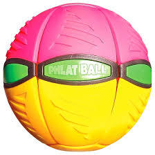 Britz'n Pieces: Phlat Ball V3 - Pink/Yellow