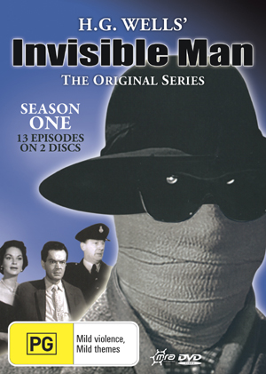H.G. Wells' Invisible Man (1959) - The Original Series: Season 1 (2 Disc Set) on DVD image