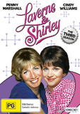 Laverne & Shirley - The Third Season DVD
