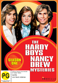 The Hardy Boys/Nancy Drew Mysteries: Season One on DVD