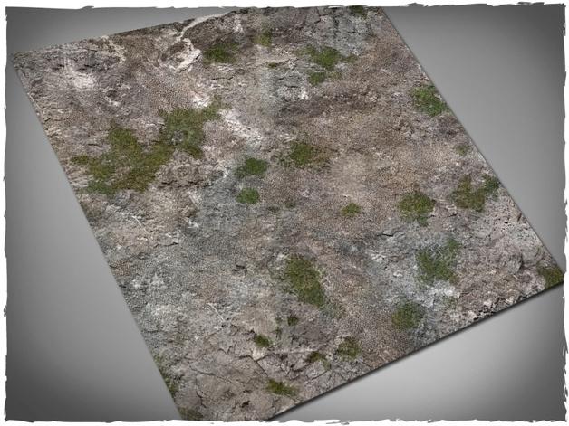 DeepCut Studio Medieval Ruins Neoprene Mat (4x4)