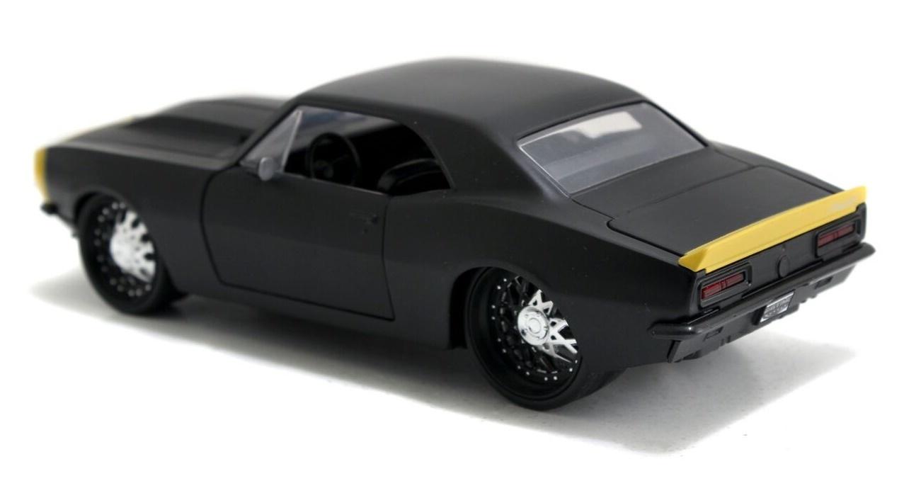 Jada: 1/24 '67 Chev Camaro Diecast Model (Black) image