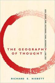 The Geography of Thought by Richard E. Nisbett image