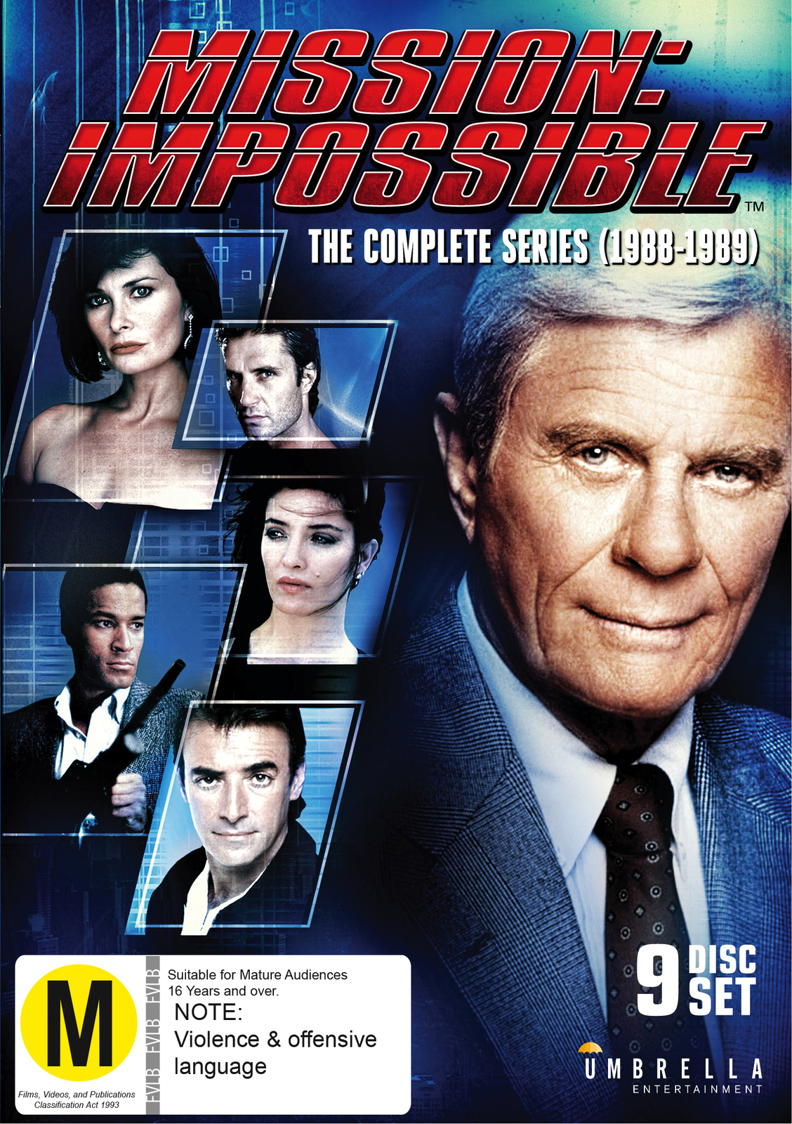 Mission Impossible: The Complete Series (1988-1989) on DVD image