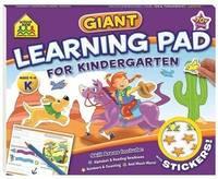 School Zone Giant Fun Pad: Kindergarten