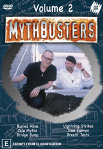 Mythbusters - Vol. 2 on DVD
