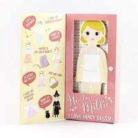 Floss & Rock: Magnetic Dress Up Doll - Millie