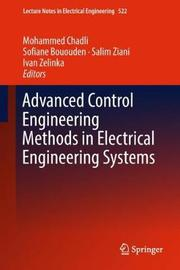 Advanced Control Engineering Methods in Electrical Engineering Systems image