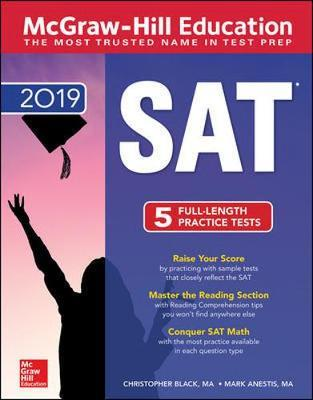 McGraw-Hill Education SAT 2019 by Mark Anestis image