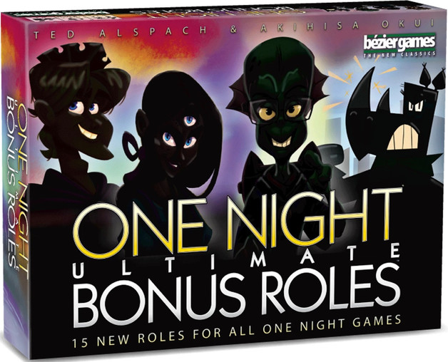 One Night Ultimate Werewolf - Bonus Roles Expansion