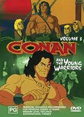 Conan and the Young Warriors - Vol. 3 on DVD