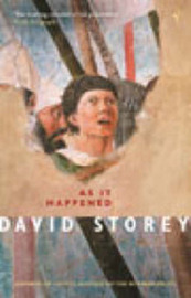 As it Happened by David Storey image