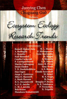 Ecosystem Ecology Research Trends image