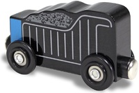 Melissa & Doug: Wooden Magnet Coal Car - 6 Pack