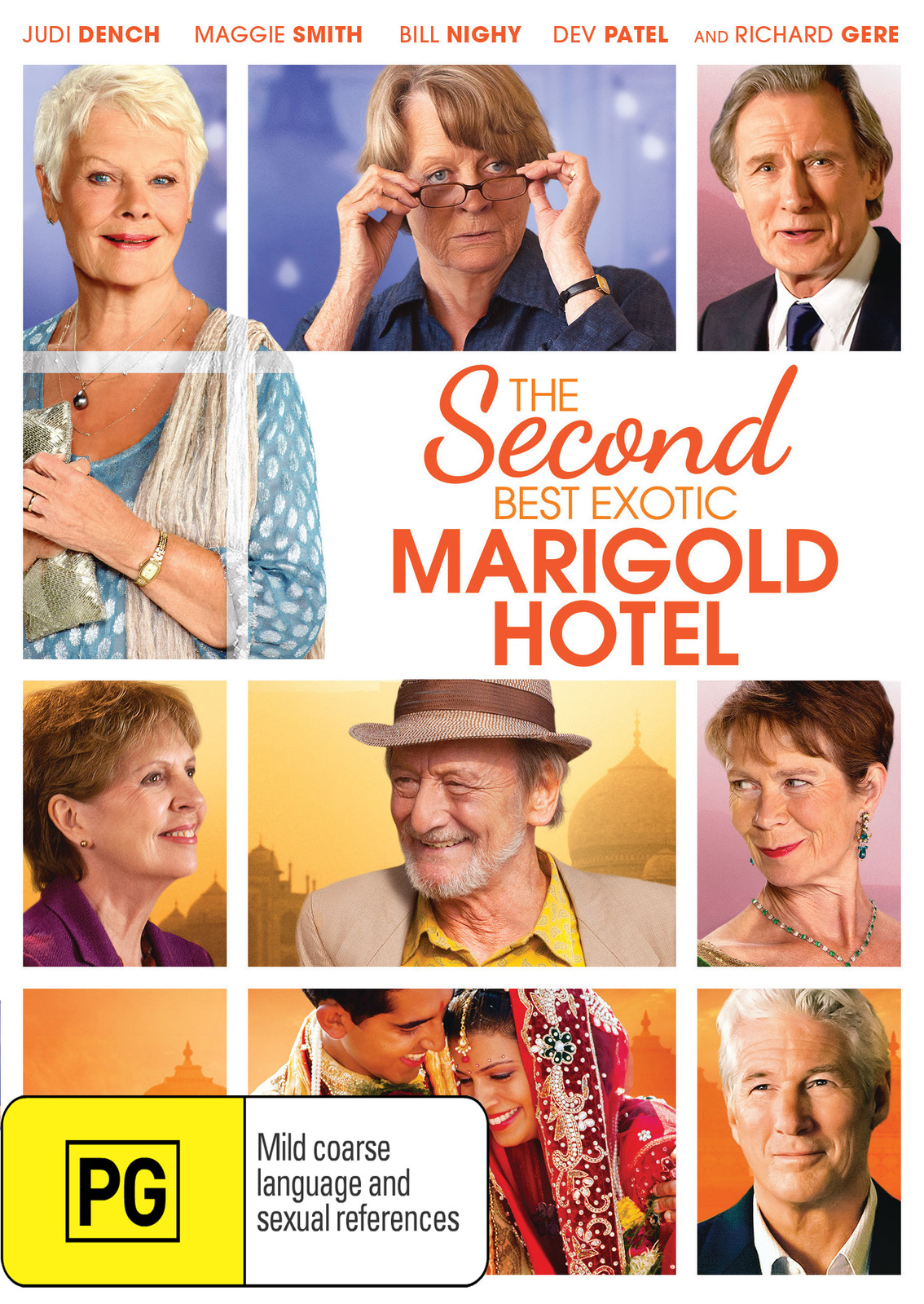 The Second Best Exotic Marigold Hotel on DVD image