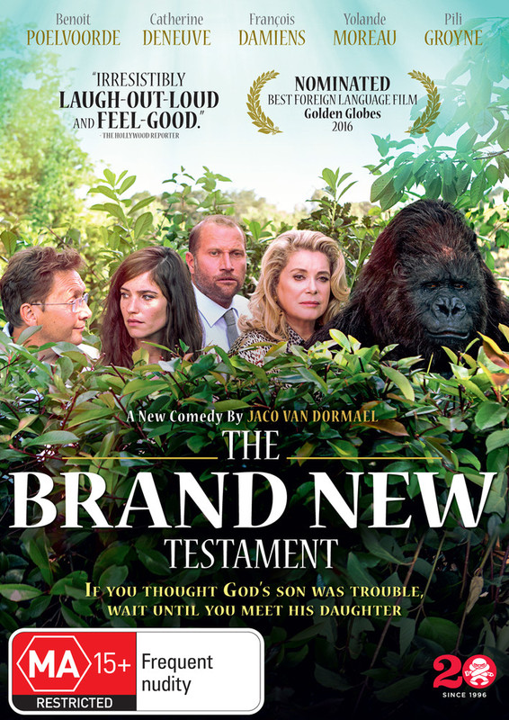 The Brand New Testament on DVD
