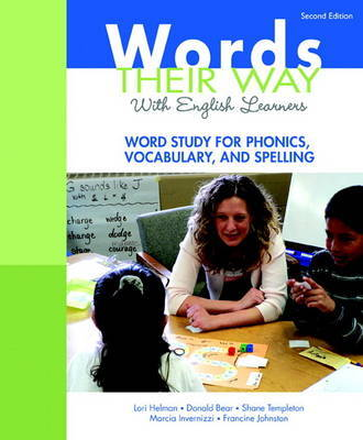 Words Their Way with English Learners: Word Study for Phonics, Vocabulary, and Spelling by Donald R Bear image