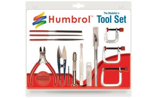 Humbrol Medium Tool Set