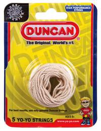 Duncan: Yo-Yo Strings (White) - 5 pack