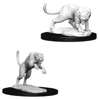 D&D Nolzurs Marvelous: Unpainted Miniatures - Panther & Leopard