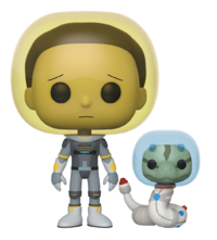 Rick & Morty: Space Suit Morty (with Snake) - Pop! Vinyl Figure image