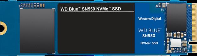 250GB WD Blue SN550 NVMe SSD