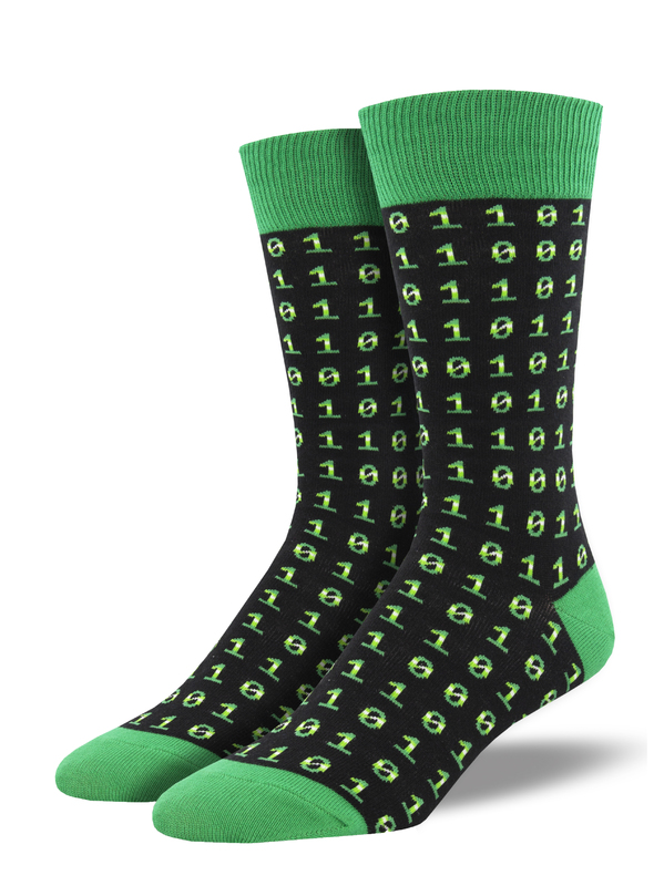 Socksmith: Binary Code - Black