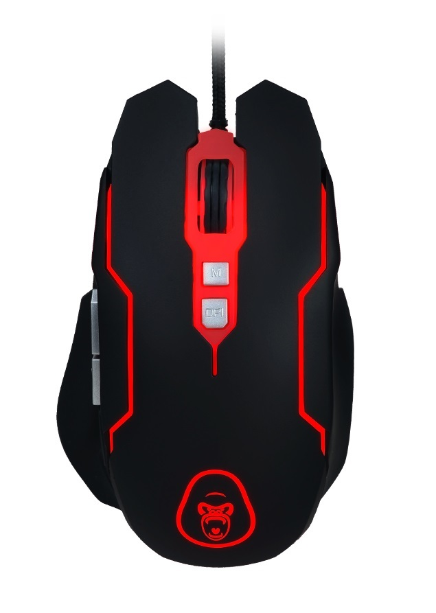 Gorilla Gaming Predator Gaming Combo (Red) screenshot