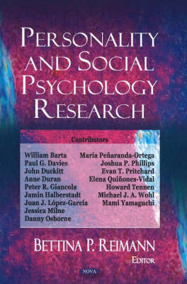 Personality & Social Psychology Research image