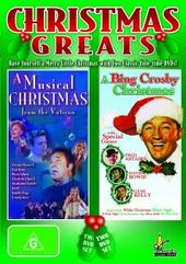 Christmas Greats (A Musical Christmas From The Vatican / A Bing Crosby Christmas) (2 Disc Set) on DVD