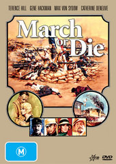 March Or Die on DVD