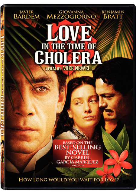 Love in the Time of Cholera on DVD