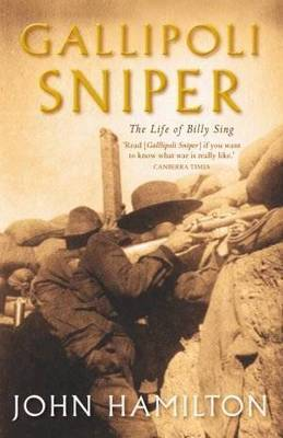 Gallipoli Sniper by John Hamilton
