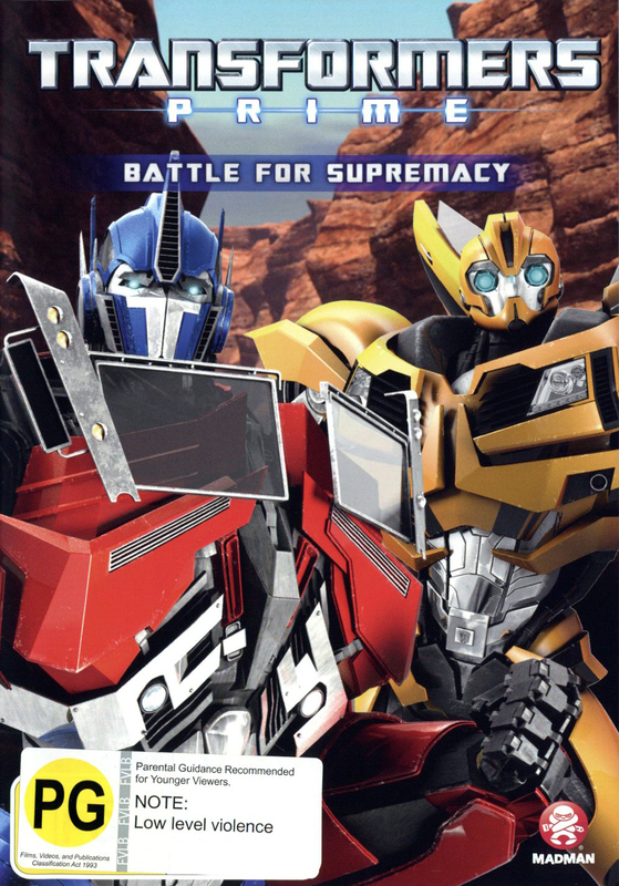 Transformers: Prime - Season 2 Volume 2 DVD