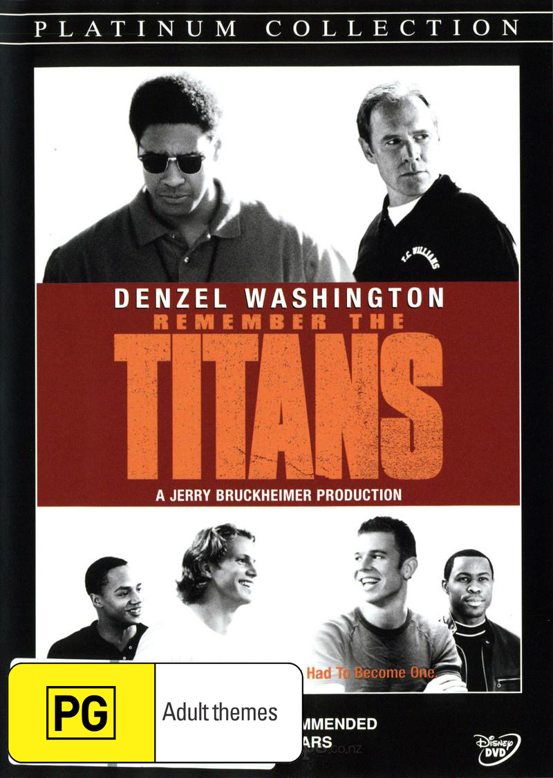 Remember The Titans on DVD image