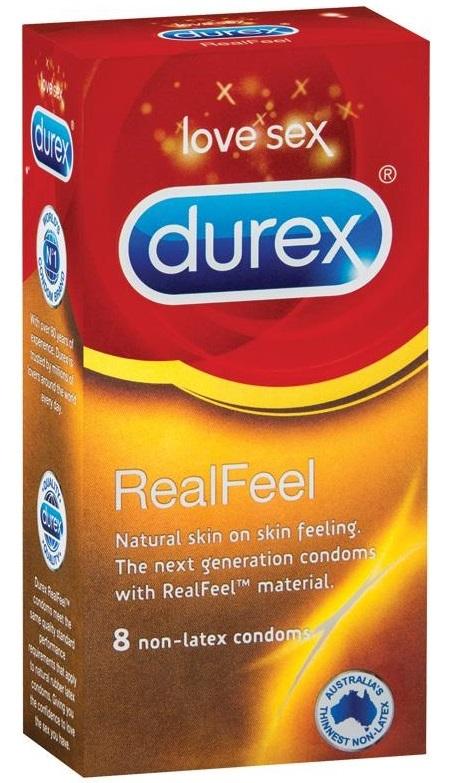 Durex Real Feel Condom (8 Pack) image
