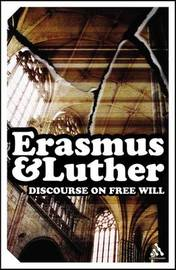 Discourse on Free Will by Desiderius Erasmus image