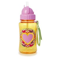 Skip Hop: Forget Me Not Straw Bottle - Heart