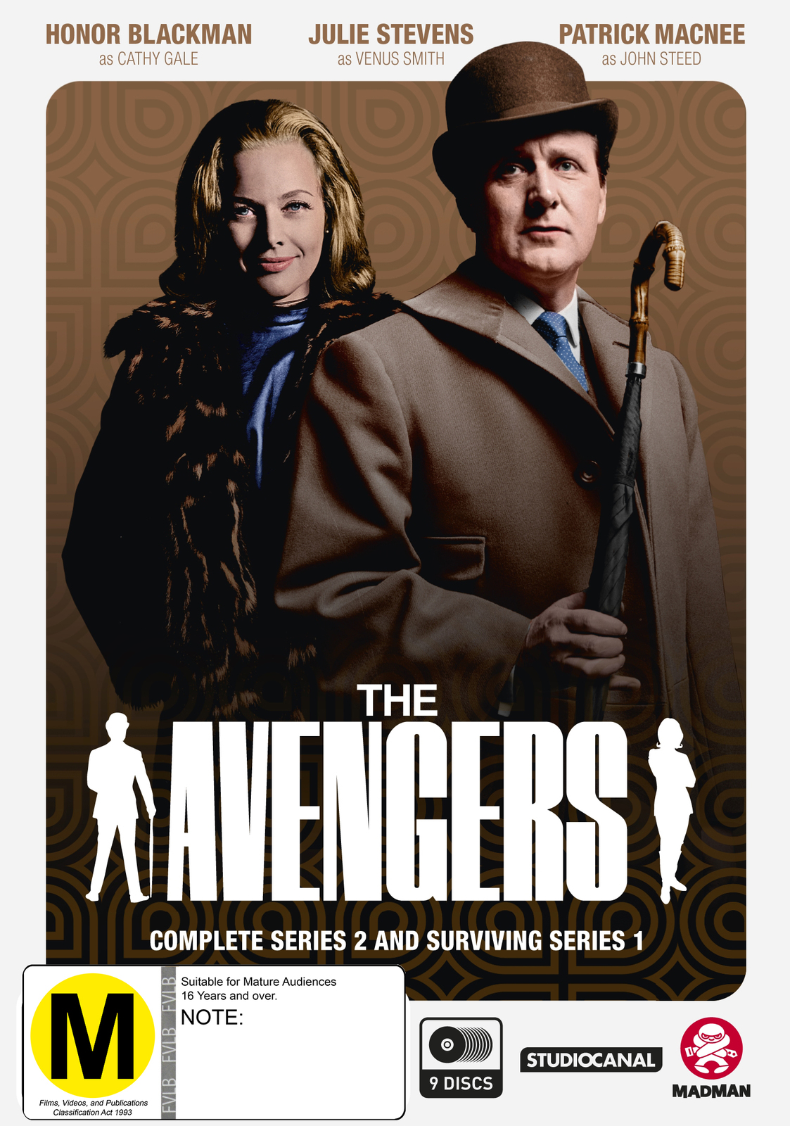 The Avengers - Complete Series 2 & Surviving Series 1 on DVD image