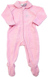 Bonds Newbies Zip Poodelette - Peony Pink (New Born)