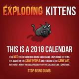 Exploding Kittens 2018 Wall Calendar by Exploding Kittens LLC