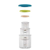 Beaba Conservation Portions Food Jars - Set of 3 (Assorted Colours)