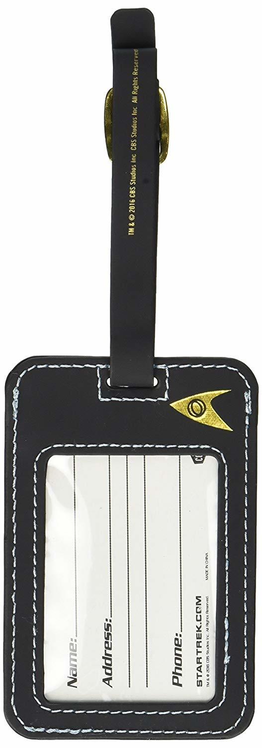 Star Trek: Gold Uniform Luggage Tag image