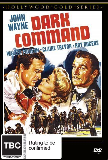 Dark Command on DVD