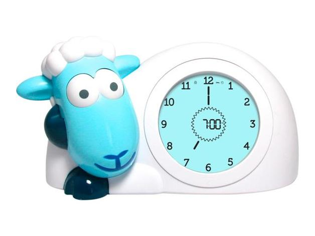Zazu Sam the Sheep Sleep Trainer Clock - Blue