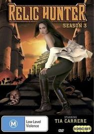 Relic Hunter - Season 3 (5 Disc Set) on DVD
