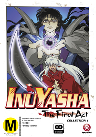 Inuyasha - The Final Act Collection 1 on DVD