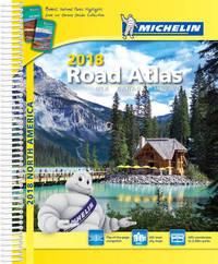 USA Canada Mexico Atlas 2018 by Michelin