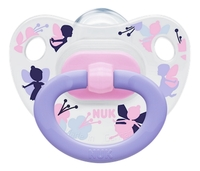 NUK: Happy Days Classic Silicone Soother - 0-6 Months Pink/Purple